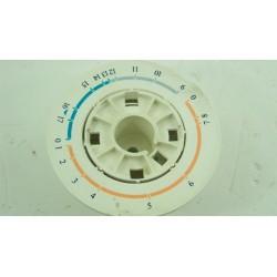 110344400 NEW POL T602FTH n°89 Support bouton programmateur pour lave linge