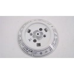03841533 HOOVER H167 N°4 Disque de programmes de lave linge