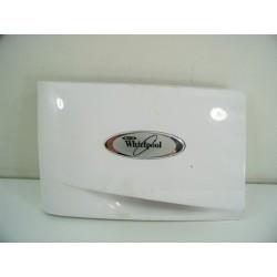 481245215738 WHIRLPOOL AWO10761 N°70 façade de Boîte à produit pour lave linge