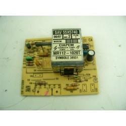 55X5740 VEDETTE BRANDT n°114 module de puissance lave linge