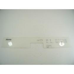 5560420 MIELE G641 N°122 Bandeau pour lave vaisselle
