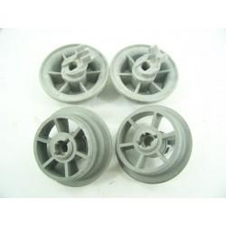 1885900800 BEKO DFN1534S n°18 Roulettes inférieur pour lave vaisselle