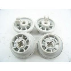 165314 BOSCH SGS8512 n°8 Roulette de panier inférieur pour lave vaisselle