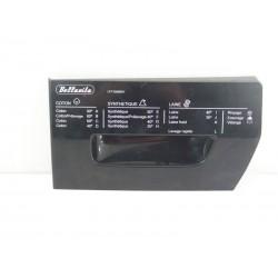 42057451 BELLAVITA LFT1006BKV N°75 Façade de boite à produit de lave linge