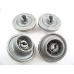 91601253 HOOVER HND915 N°7 Roue inférieur panier pour lave vaisselle