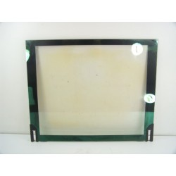 44005342 ROSIERES RFD7659MRB n°170 verre vitre arrière de porte pour four