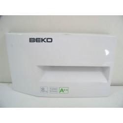 2828119743 BEKO WMB812 N°76 Façade de boite à produit de lave linge