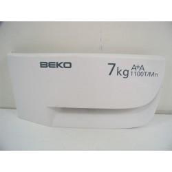 2813299384 BEKO WMD67110 N°77 Façade de boite à produit de lave linge