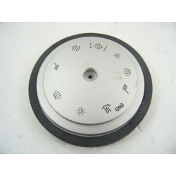 1525852008 ZANUSSI DA6373 n°152 bouton argent sérigraphie pour lave vaisselle d'occasion