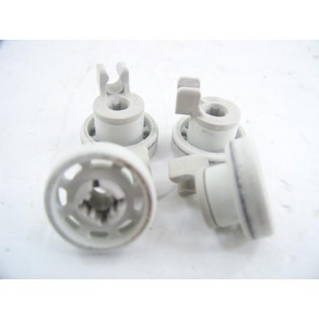 00028021 BOSCH SN55300/01 n°2 Roulette de panier supérieur pour lave vaisselle