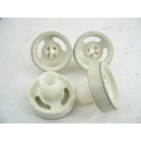 C00056347 INDESIT ARISTON N°1 Roulette pour panier inférieur pour lave vaisselle