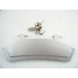 481071424091 WHIRLPOOL AWOD4847 n°205 Poignée de porte de hublot pour lave linge