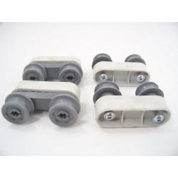 42008680 EDSON IELV49 n°54 Roulettes rail panier supérieur pour lave vaisselle