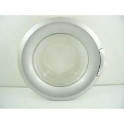 HAIER HW60-12F2SM n°215 Porte hublot complète pour lave linge