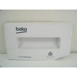 2420709361 BEKO WDW85120 N°83 Façade de boite à produit de lave linge
