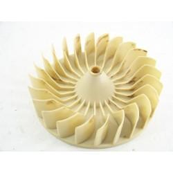 03870623 CANDY ABCIC259EX n°74 turbine arrière pour sèche linge d'occasion