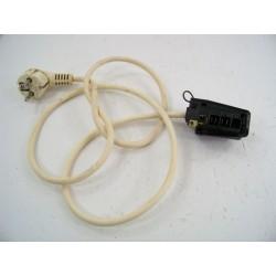C00041163 INDESIT WG521F N°124 Filerie câblage + bornier pour lave linge d'occasion