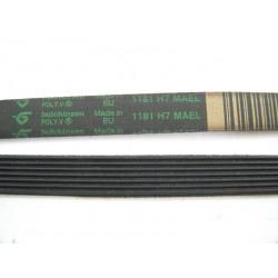 C00066521 1181 H7 MAEL courroie HUTCHINSON pour lave linge