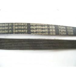 Courroie OPTIBELT 7EPH 1250 pour lave linge d'occasion
