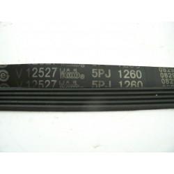 5PJ 1260 courroie VC021095 pour lave linge