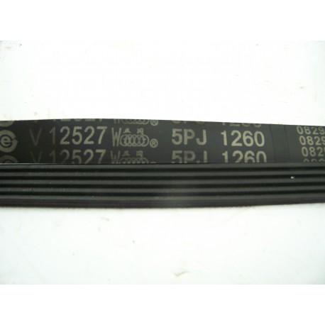 5PJ 1260 courroie v12527 pour lave linge