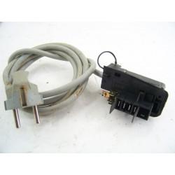 1253055139 FAURE LFV882 N°130 Filerie câblage pour lave linge d'occasion