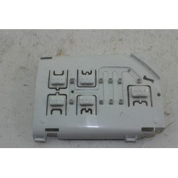 41028321 CANDY CO136F-47 N° 78 support et touche de commande pour lave linge