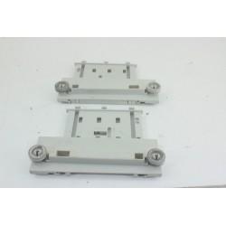 41900795 CANDY CDPM7676X-47 N°18 roulette panier supérieur pour lave vaisselle