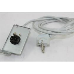 80005234 CANDY CST105X N°27 Câble alimentation pour sèche linge