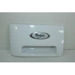 481071425321 WHIRLPOOL AWOD8231 N°90 Façade de tiroir de lave linge