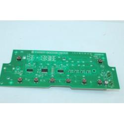 41035750 CANDY GOW338D-47 n°54 module d'affichage module clavier de lave linge