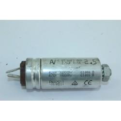 32X2203 BRANDT DFH1130 n°124 Condensateur 2.5µF pour lave vaisselle