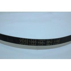 5PJ 1190 VC021095 courroie pour lave linge