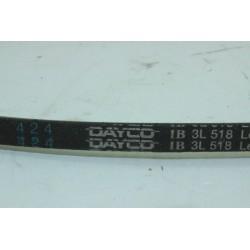 50064940005 courroie DAYCO 3L 518 pour lave linge