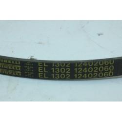 124020600 PIRELLI EL1302 courroie pour lave linge