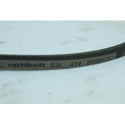 80006737 OPTIBELT E3L 474 courroie pour lave linge d'occasion