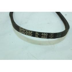 courroie DAYCO 3L 480 pour lave linge