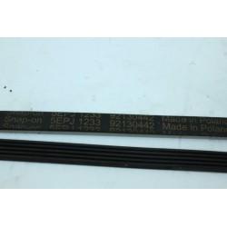 92130442 courroie GATES 5EPJ 1233 pour lave linge