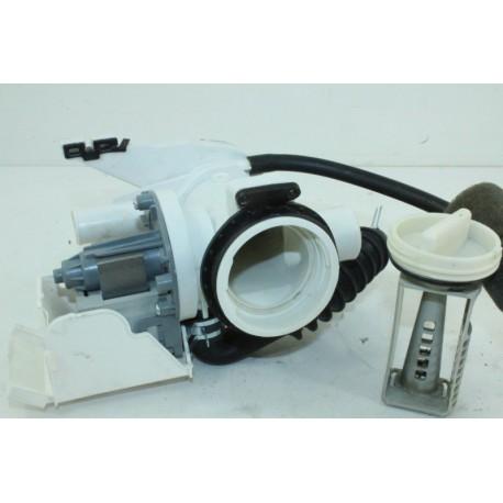 489A12 SAMSUNG WF80F5E0W4W/EF n°5 pompe de vidange pour lave linge