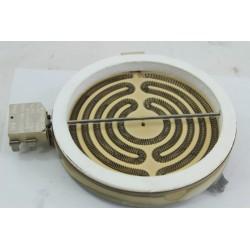C00040848 SCHOLTES TH420 n°118 Foyer 1100W pour plaque vitrocéramique