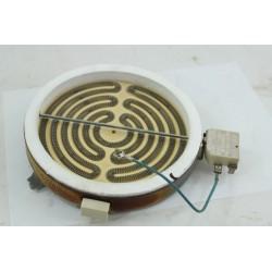 C00040853 SCHOLTES TH420 n°119 Foyer 1400W pour plaque vitrocéramique