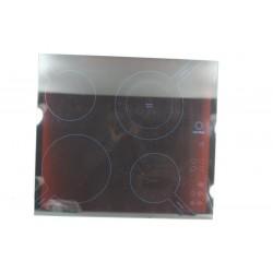 C00112788 SCHOLTES TI6514 N° 9 Dessus de verre pour cuisinière induction d'occasion