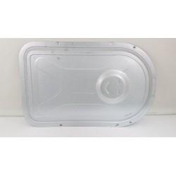 SAMSUNG WF8802LPH n°22 Tôle de protection arrière de lave linge d'occasion