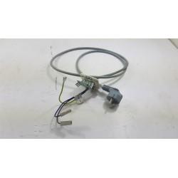 2820904400 BEKO WML15105 N°179 Câble alimentation pour lave linge d'occasion