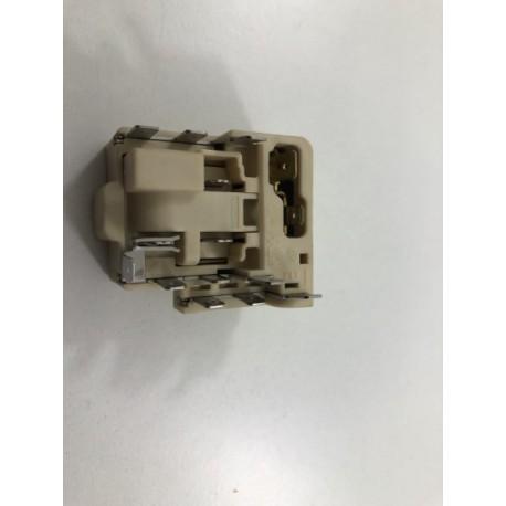 5930870300 BEKO BCSA285K2SF n°63 relais démarrage pour réfrigérateur