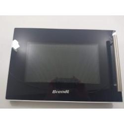 AS6017239 BRANDT SM2602W1 n°10 Porte complète pour four à micro-ondes