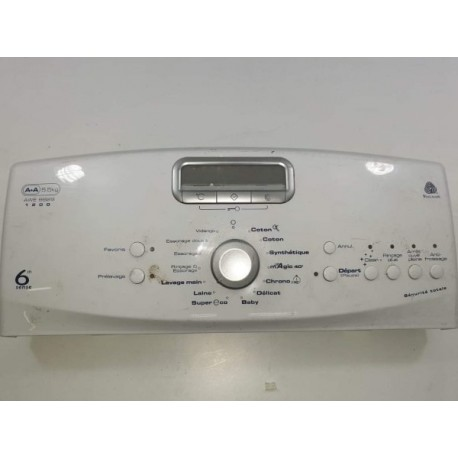 480111100831 WHIRLPOOL AWE9829 N°662 Bandeau pour lave linge d'occasion