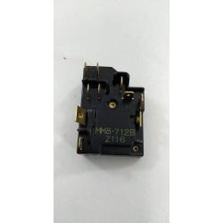 45X6384 DE DIETRICH RG3173E70 n°76 Relais de démarrage pour réfrigérateur