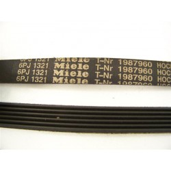 1987960 6PJ 1321 Courroie MIELE lave linge